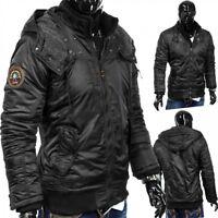 Veste d'hiver homme à capuche Jacke Blade Core Biker Parker Steppdesign