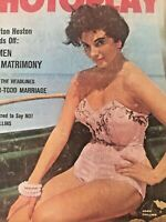 Vintage Collectible Movie Magazine Photoplay Joan Collins Cover May 1957