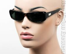 KISS Slim Cat Eye Retro Sunglasses Pinup Vintage Style Glass Lens Tortoise 621