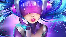 Poster 42x24 cm League Of Legends DJ Sona LOL 02