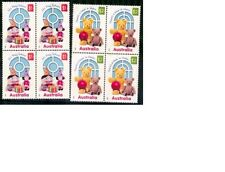 Australia 2016 Playschool Set of 2 Blocks of 4 - Code TBA