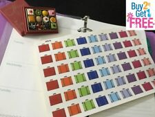 PP019 -- Small Travelling Cases Life Planner Stickers for Erin Condren (54 pcs)