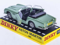 1/43 Dinky toys 110 Aston Martin DB5 Diecast GREEN CAR MODEL RARE COLLECTION NEW