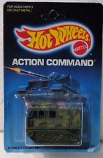 Hot Wheels 1989 Assault Crawler on Action Command  Card unpunched VHTF