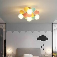Nordic Molecular Ceiling Led Lamps Creative Flowers Bedroom Lighting Fixtures