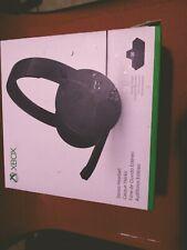 Microsoft - Xbox One Stereo Headset - Black S4V-00012 Wired