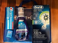 ORAL-B Pro 1000 Powered by Braun CrossAction  Electric Toothbrush