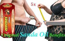 5 X Herbal Sandha / REPL / Saandhha Oil Male Organ Enlargement 100% Original