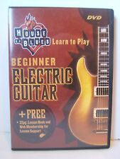 House of Blues Learn to Play Beginner Electric Guitar DVD