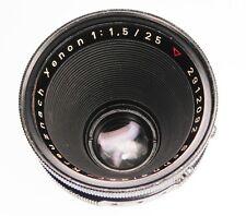 Schneider 25mm f1.5 Xenon Arriflex standard mount  #2912092