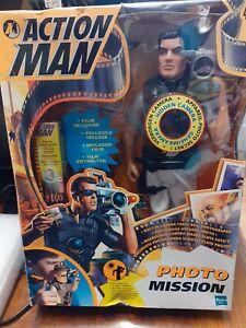 Hasbro  Action Man Photo Mission inc Real Camera takes Real Pics. New