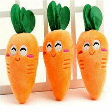 Carrot Toys Soft Cute Squeaker Pet Supplies Chew Puppy Squeaky Dog Sound Plush