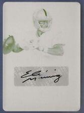 2017 National Treasures Eli Manning Auto #d 1/1 Printing Plate New York Giants