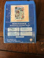 Renaissance - Scheherazade And Other Stories - 1975 8 Track Tape - Untested