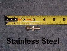 RV Marine Stainless Steel 13MM Ball 5/16 Stud Gas Spring Strut Mount Pin No Rust