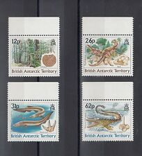 TIMBRE STAMP 4  BAT ANTARTIC Y&T#193-96  DINOSAURES NEUF**/MNH-MINT 1991 ~A36
