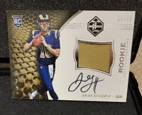 2016 Panini Limited Jared Goff RC RPA #16/49 1of1? Jersey # rare insert Auto WOW