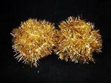 55 Feet Christmas Tree Garland Tinsel Gold