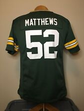 Nike Green Bay Packers Clay Matthews #52 NFL Jersey Youth Size Large