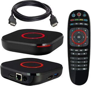 MAG 424 Original Infomir 4K IPTV Set TOP Box Multimedia Player TV EU Plug