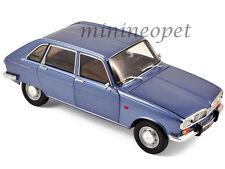 NOREV 185132 1968 86 RENAULT 16 COBALT 1/18 DIECAST MODEL CAR METALLIC BLUE