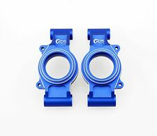 GDS Racing Rear Wheel Hub Carriers Blue for Traxxas X-MAXX 1/5 RC Truck (2pc)
