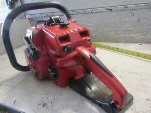 """VINTAGE JONSEREDS 49SP CHAINSAW WITH 20"""" BAR"""