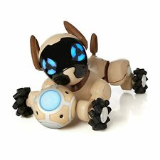 🐶 CHOCOLATE CHIP INTERACTIVE ROBOTIC DOG PUPPY FROM WOWWEE NEW IN SEALED BOX🐶