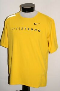 NIKE LIVESTRONG Mens Large L Fit-DRY Athletic Jersey Combine ship Discount