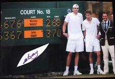 "TENNIS THE LONGEST MATCH! OVER 11 HOURS - 2010 ISNER v MAHUT (6"" x 4"") WIMBLEDON"