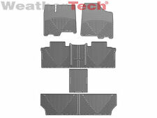 WeatherTech All Weather Floor Mats for Toyota Sienna 2011-2012 - Full Set - Grey