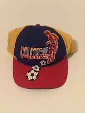 Vintage 1994 Columbia Soccer Snapback Hat New Without Tags