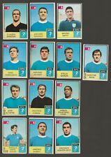 Album Calciatori Mira 1965/66  lotto 16 figurine squadra Napoli  con  tifosi