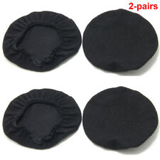 2Pairs Premium Deluxe Comfort Velours Cloth Ear Seal Covers for David Clark Kore
