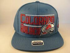 Colorado Avalanche NHL Reebok Snapback Hat Cap Blue