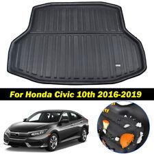For Honda Civic 2016 - 2019 Sedan Car Cargo Liner Rear Boot Floor Trunk Mat Tray