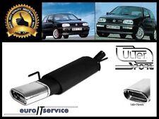 SILENCIEUX VW GOLF 3 III 1.6 1.8 1.9 2.0 HB 1993 1994 1995 1996 1997 Ø145x75