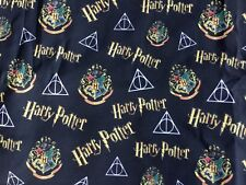 Chute Harry Potter Hogwarts Deathly Hallows Tissu Polycoton Personnage Assistant