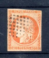 France 1849-50 40c orange Ceres imperf fine used SG14 WS16962
