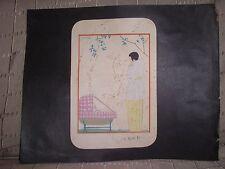 Georges Lepape gravure originale