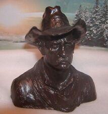 """Vintage 1960's Michael Garman Productions """"Cowboy Bust"""""""