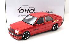 1:18 Otto mercedes Brabus 190e 3.6s w201 red 1989 New en Premium-modelcars