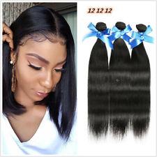 3pcs/150G Straight human hair bundles Peruvian Virgin human hair Weaving Weft