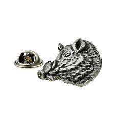 Wild Boar Pewter Lapel Pin Badge XDHLP1515