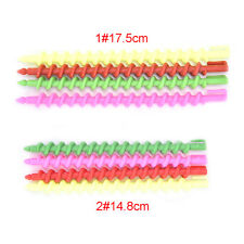 26x Plastic Barber Hairdressing Spiral Hair Perm Rod Salon Tool Durable G Large