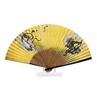 Fujin Raijin fan washi paper sensu for Japanese yukata Kimono #2