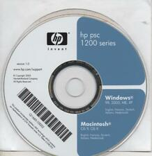 HP - PSC 1200 SERIES - CD ROM - DRIVE STAMPANTE - MAC & WINDOWS