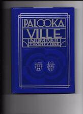 Palookaville Twenty One  #21 hardcover Seth September 2013