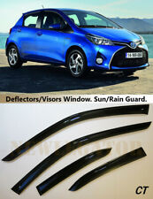 For Toyota Yaris/Vits 5d 2011-, Windows Visors Deflector Sun Rain Guard Vent
