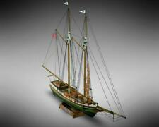 Mini Mamoli Flying Fish 1:100 (MM06) Model Boat Ship Kit with pre-carved hull.